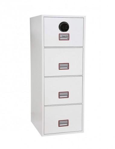 armoire-de-securite-Armoire De Classement Ignifuge World Class Vertical 25″ FS2254F Serrure biométrique