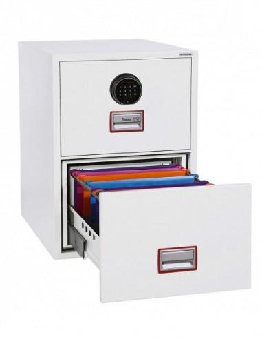 armoire-de-securite-Armoire De Classement Ignifuge World Class Vertical 31″ FS2262F Serrure Biométrique