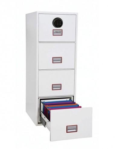 armoire-de-securite-Armoire De Classement Ignifuge World Class Vertical 31″ FS2264F Serrure Biométrique