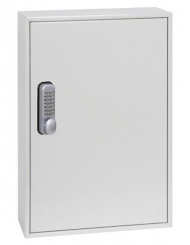 boite-a-clefs-Boîte À Clés Extra Profonde Fermeture À Clef & Cadenas Avec Serrure À Combinaison Mécanique Kc0502m