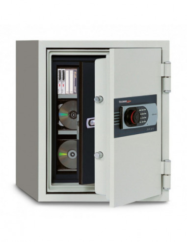 coffre-fort-ignifuge-90-minutes-Coffre Fort Ignifuge Serrure À Combinaison Electronique Digitale 530 Sde