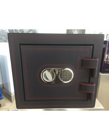 coffre-certifie-pour-tabac-Coffre forts Habillage en Cuir Classe 1 Serrure Electronique