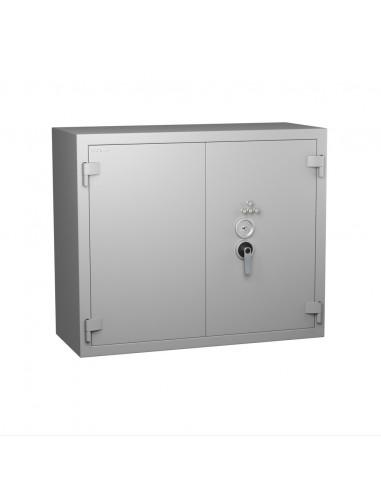 armoires-de-securite-Armoire Forte Hartmann Tresore Star Protect 500 Serrure À Clés + Combinaison 4 Tubes Compteurs