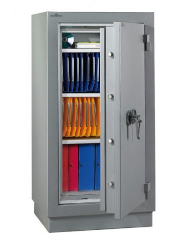 armoire-de-securite-Armoire Forte Ignifugé Paper 2 Heures Paper Fire 110 Serrure À Clés