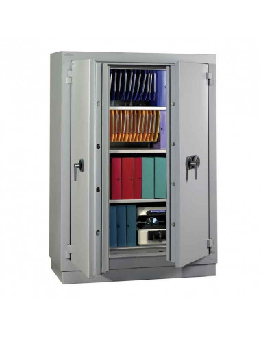 armoires-de-securite-Armoire Forte Ignifugé Paper 2 Heures Paper Duo 750 Serrure À Clés