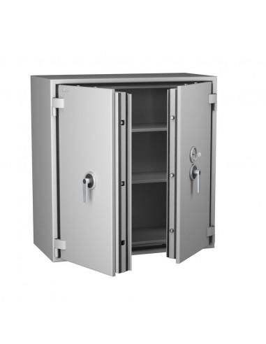 armoire-de-securite-Armoire Forte Ignifuge Papier 1 Heure Protect Fire 246 Serrure À Clés