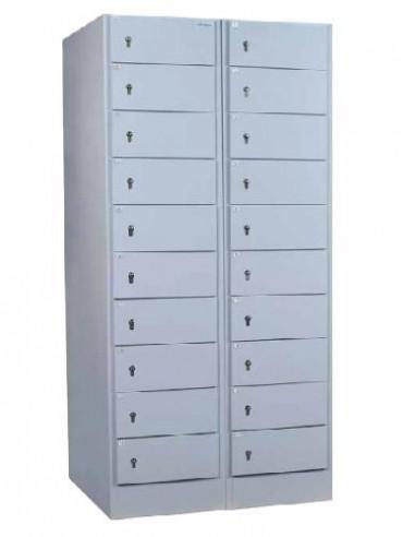 armoires-casiers-de-rangement-Armoire De Service Fichet Bauche Colonne de Service Chargement Frontal
