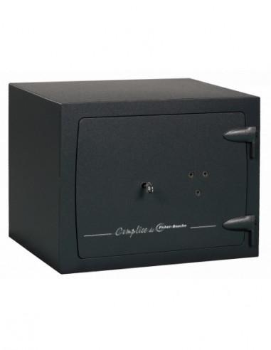coffre-certifie-pour-tabac-Coffre Fort Fichet Bauche Complice Pack Vision FC3C 80 LFS MPX+3 tubes À Fixer