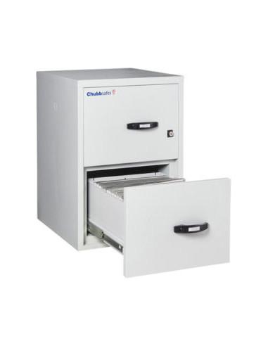 armoire-de-securite-Classeur Ignifuge Papier ChubbSafes Fire File 25 60P - 2 Tiroirs A Clé