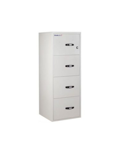 armoires-de-securite-Classeur Ignifuge Papier ChubbSafes Fire File 25 60P - 4 Tiroirs A Clé