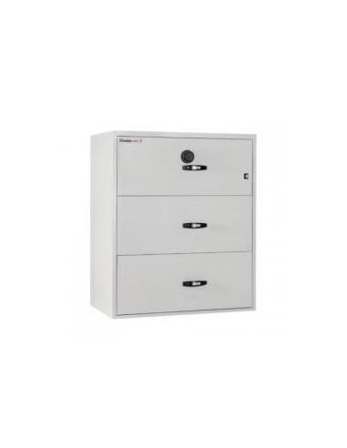 armoire-de-securite-Classeur Ignifuge Papier ChubbSafes Fire File 31 120P - 3 Tiroirs A Clé