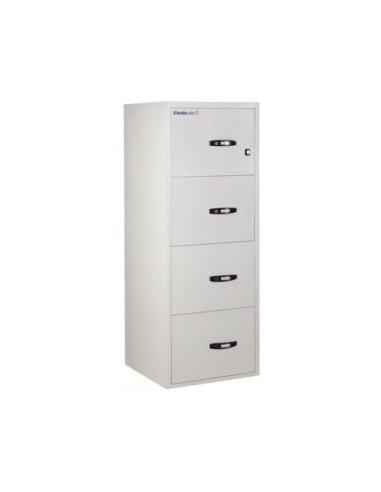 armoires-de-securite-Classeur Ignifuge Papier ChubbSafes Fire File 31 120P - 4 Tiroirs Electronique