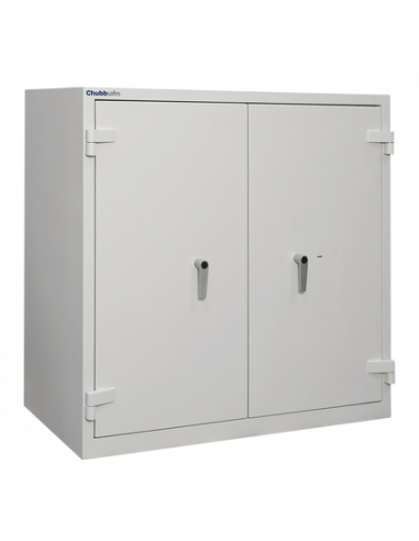 armoires-de-securite-Armoire Ignifuge Papier ChubbSafes DUPLEX 450 K-A Clé