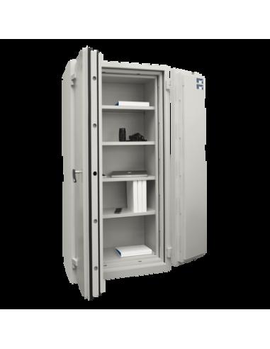 armoires-de-securite-Armoire Ignifuge Papier ChubbSafes DUPLEX 550 K-A Clé
