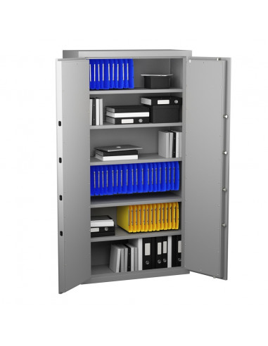 armoire-de-securite-Armoire Forte Anti-Feu Super Protect 700 Serrure À Combinaison Electronique Classe 2 VDS