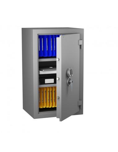 armoire-forte-Armoire Forte Anti-Feu Super Protect 190 Serrure à combinaison électronique classe 2 VDS