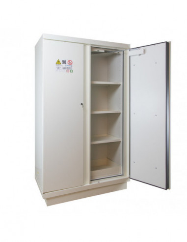 armoire-forte-Armoire De Sécurité En 14470-1 90 Minutes - Haute 2 Portes - 2 Compartiments -795+M11