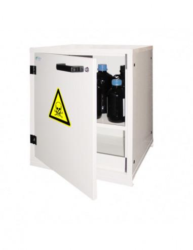 armoire-forte-Armoire Sous-Paillasse 1 Porte Pour Produits Toxiques - TO30