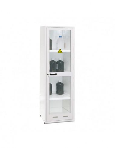 armoire-produits-chimique-Armoire De Sécurité - Haute 1 Porte Vitrée - ASV