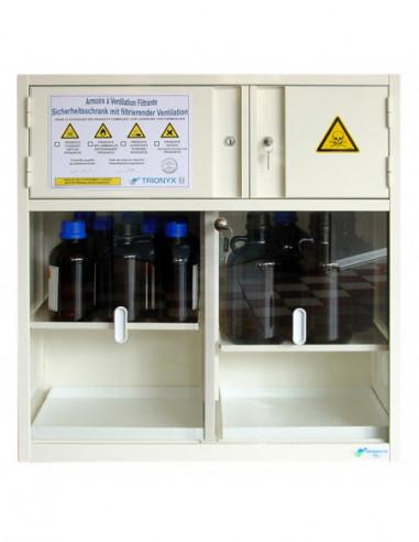 armoire-forte-Armoire De Sécurité À Filtration - À Poser Sur Table Ou Fixer Au Mur - AF10