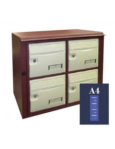boites-aux-lettres-exterieures-Boite Aux Lettres Epsilon Ext. 34 Module A4 Ouverture Ptt