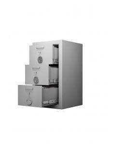 armoires-casiers-de-rangement-Armoire Forte À 3 Tiroirs...