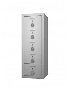 armoires-casiers-de-rangement-Armoire Forte À 5 Tiroirs...