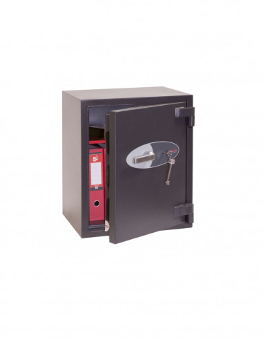 coffre-certifie-pour-tabac-Coffre fort Mercury à serrure à clef HS2052K
