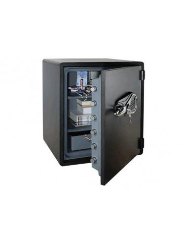 coffre-fort-Coffre Fort Ignifuge Reskal WDS60 NOIR Serrure Électronique