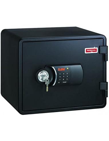 coffre-fort-Coffre Fort Ignifuge Reskal FS-FU 20 Litres Noir Serrure Électronique