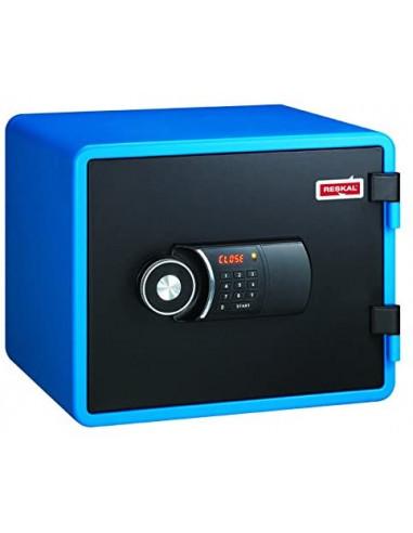 coffre-fort-Coffre Fort Ignifuge Reskal FS-FU 20 Litres Bleu Serrure Électronique