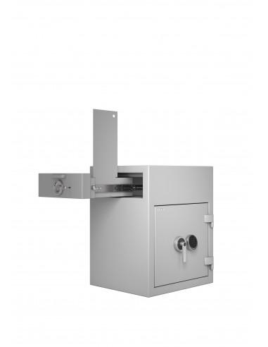 coffre-certifie-pour-tabac-Coffre Fort Hartmann Tresore Zephir Depôt 1402 Classe 2 Serrure Électronique