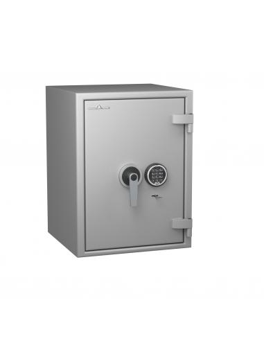 coffre-fort-ignifuge-60-minutes-Coffre Hartmann Tresore Gamme Protect Duo60 Classe 1 Serrure À Clés + Électronique