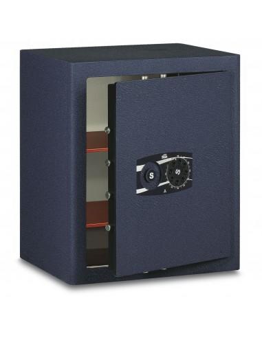 mini-coffre-fort-Coffre Fort Mobile Monolithique Combinaison À Disque Pression Manuelle Série 380 Stark 382