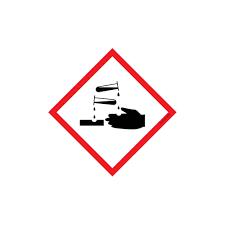 Pour les produits corrosifs