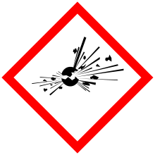Pour les produits chimiques explosifs