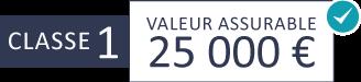 Classe 1 : 25 000 €