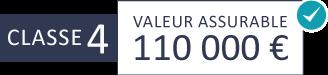 Classe 4 : 110 000 €